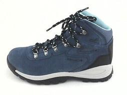 COLUMBIA Hiking Boots Shoes Blue Suede Waterproof Women's US