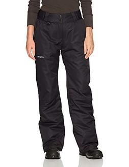 Arctix Women's Insulated Snow Pant, Black, Medium/Tall