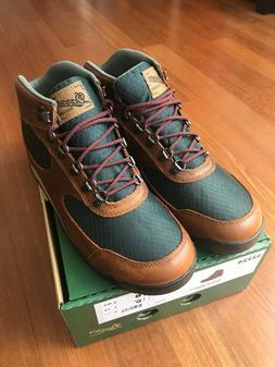 "Danner Jag 4.5"" Waterproof Hiking Boots, Barley Leather Gree"