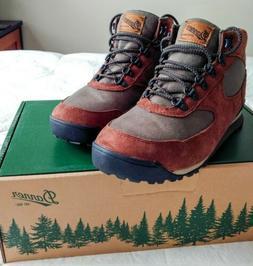 "Danner Jag Dry Waterproof 37365 Hiking Boots 4.5"" H Bark Dus"