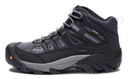 Keen 1018653 Men's Boulder WP MID Steel Toe Magnet/Gargoyle