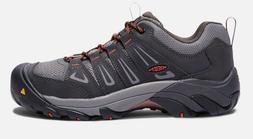 Keen 1018654 Men's Boulder Low Waterproof Steel Toe Raven Gr