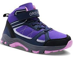 Vivay Kids Girls Hiking Boots Trekking Hiking Shoes Ankle Bo