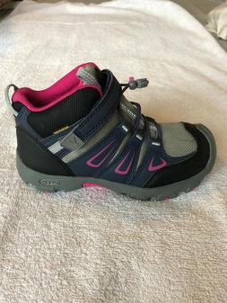 Keen Kids Girls Oakridge Mid Hiking Boots Dress Bliss and Ve