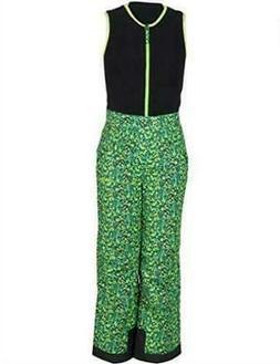 Arctix Kids Limitless Fleece Top Bib Overalls Size XL, Ice B