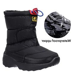 ALEADER Kids Waterproof Winter Snow Boots Outdoor Warm Ankle