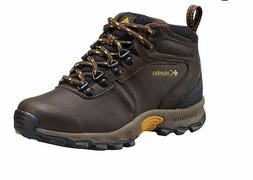 Columbia Kids Youth Newton Ridge Hiking Boot,Cordovan/Golden