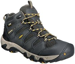 KEEN Men's Koven Mid Waterproof Hiking Boot,Raven/Tawny Oliv