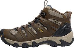 KEEN Men's Koven Mid Waterproof Hiking Shoe, Cascade Brown/M