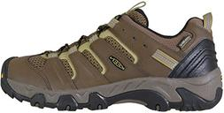 KEEN Men's Koven wp-m Hiking Shoe, Canteen/Dark Olive, 10 M