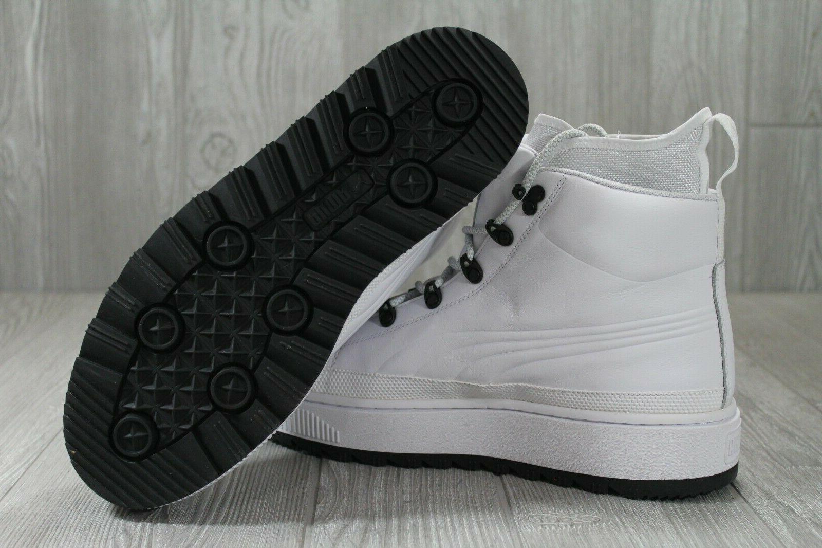38 Puma Evolution Ren White Lace Mens Boots 363366