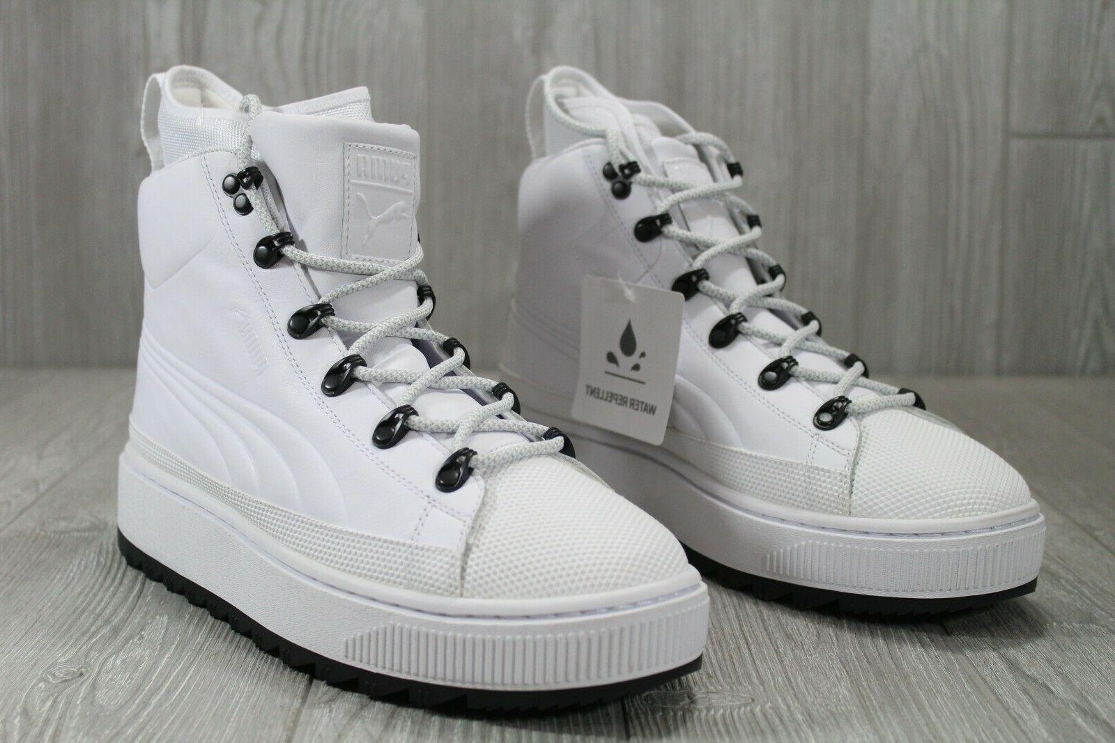 38 Puma Evolution Ren White Mens Hiking Boots 10 363366