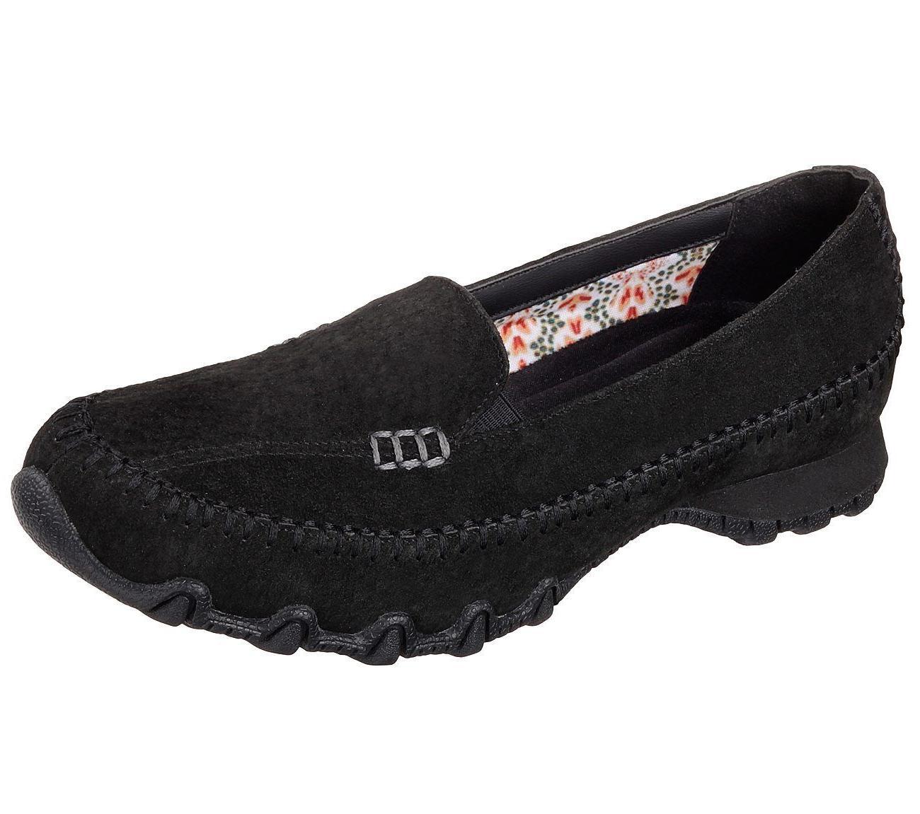 48930 black shoes memory foam women dress