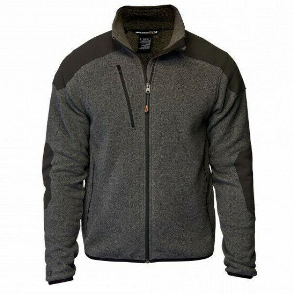 5 11 tactical full zip sweater gun