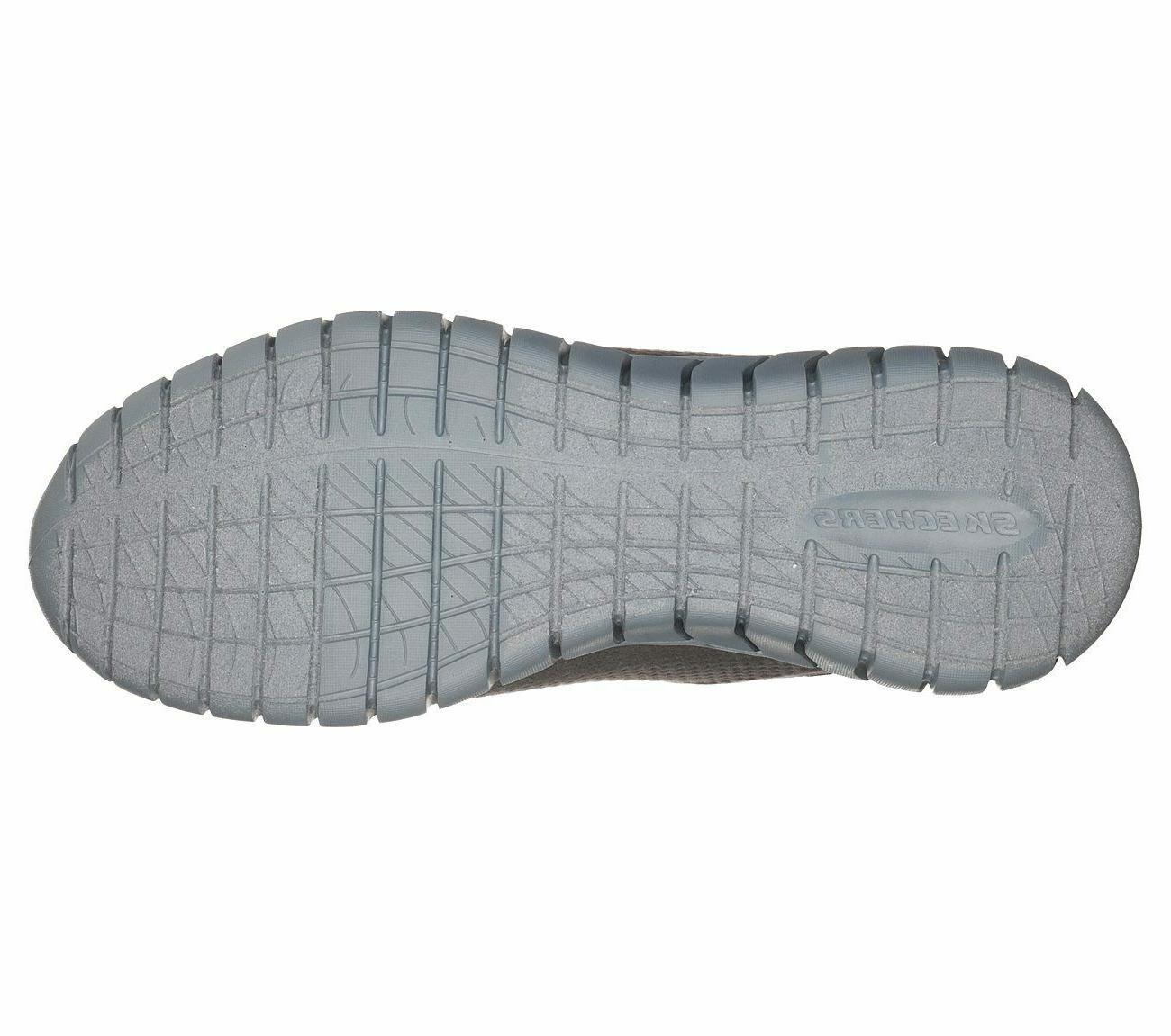 52821 Wide Fit Charcoal Skechers Foam Sport Mesh