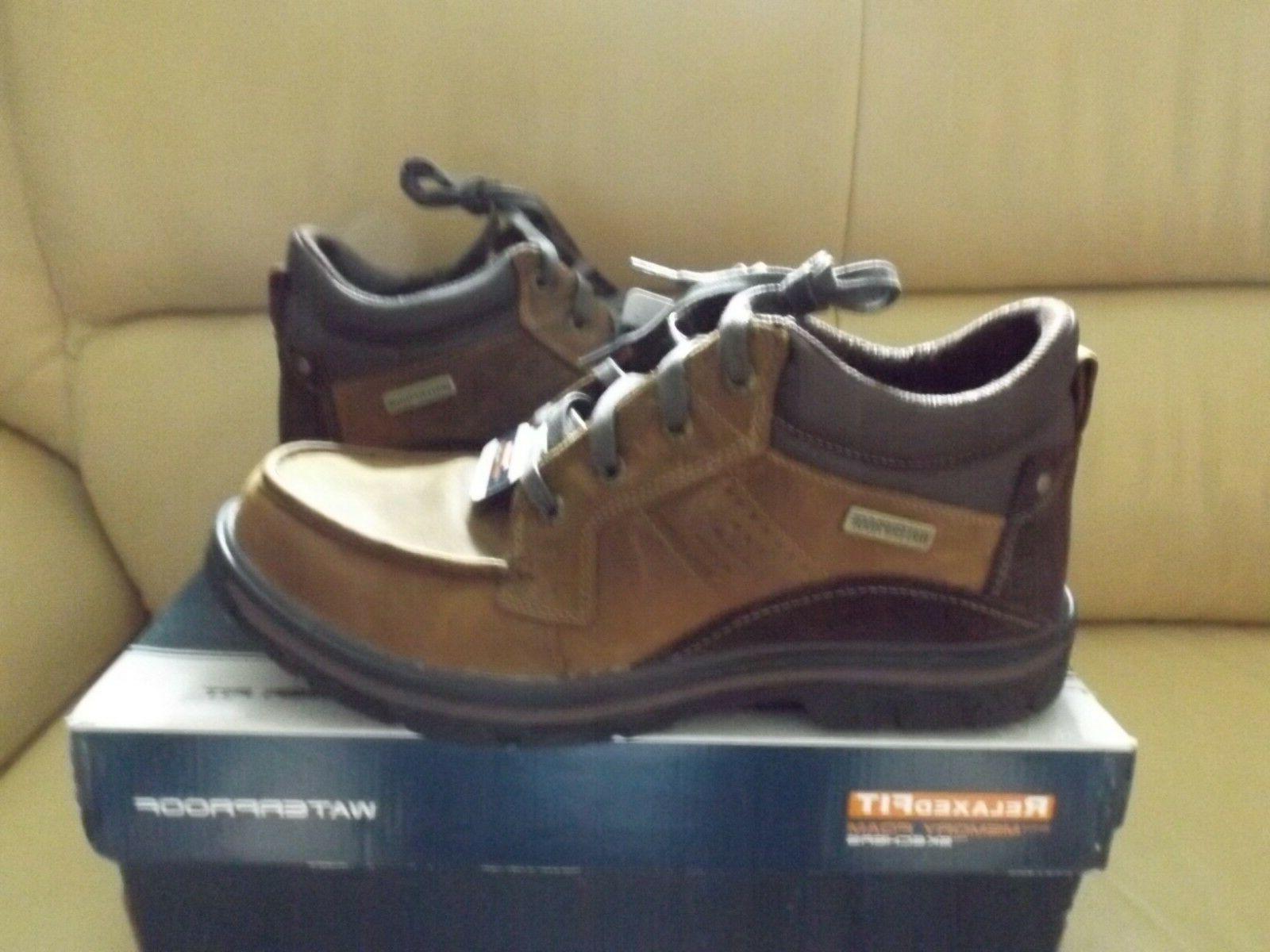 Skechers 64522 CDB Melego Hiking Boots Men's Shoes Waterproo