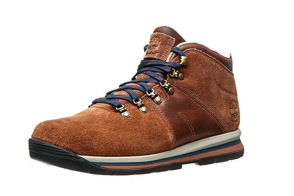 TIMBERLAND A1QH9 GT RALLY MID MEN'S BROWN WATERPROOF
