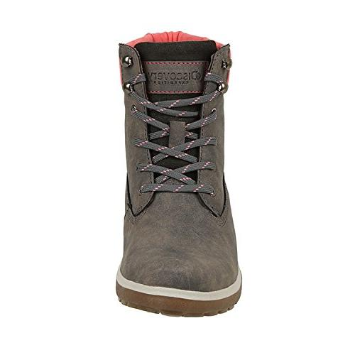 Discovery Womens Adventure High Top Hiking Boot Size