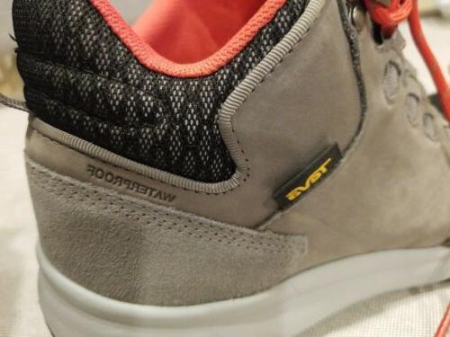 TEVA Mid Hike Boots Lightweight charcoalgrey 10.5