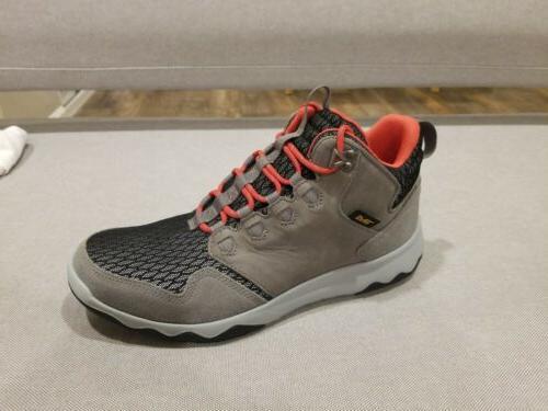arrowood mid mens hike boots waterproof flash