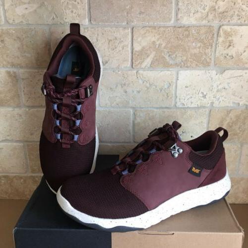 arrowood wp mahogany leather trail hiking boots