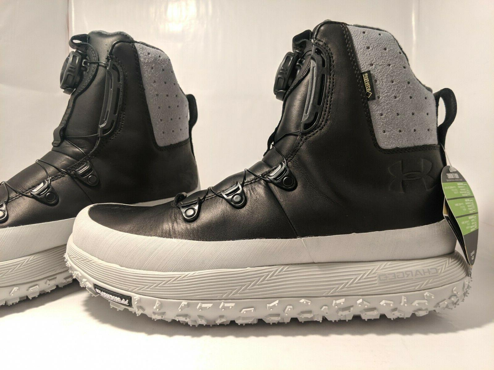 Under Armour Black/Gray Fat Govie SE Hiking Boots
