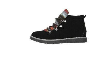 Skechers Bobs Alpine Knit Detail Boots - NEW