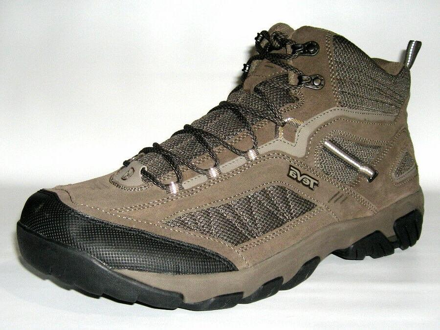 BRAND MID SUEDE TRAIL HIKING BOOTS