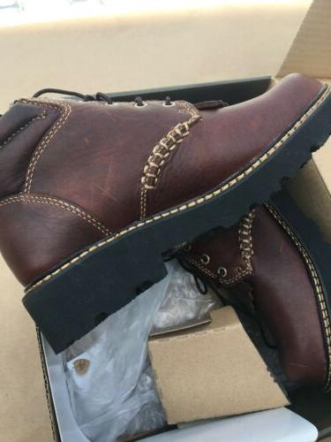 Ariat Brown Leather Ankle Size