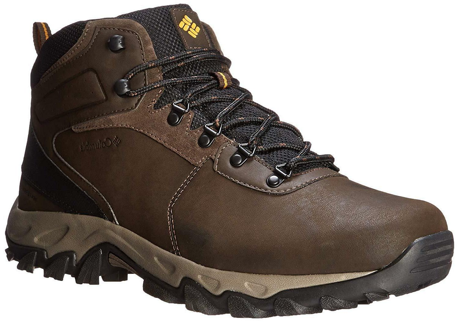 columbia mens newton ridge plus ii waterproof