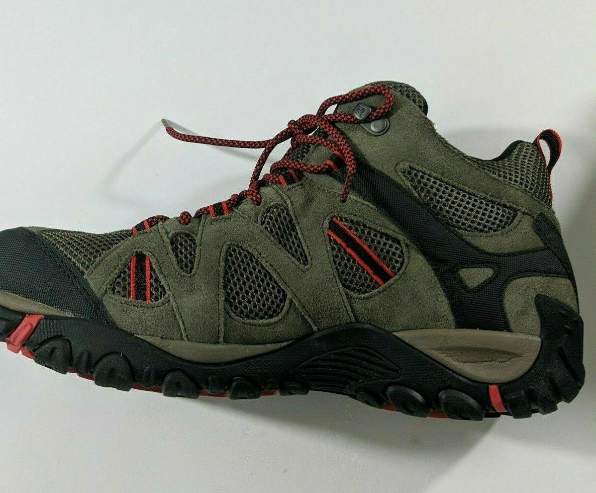 Merrell Mid Hiking Boots Red