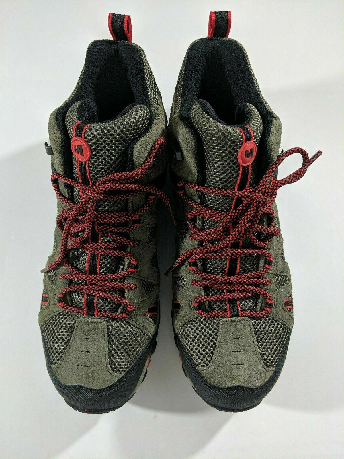 Merrell Deverta Mid Hiking Boots Red J375799C