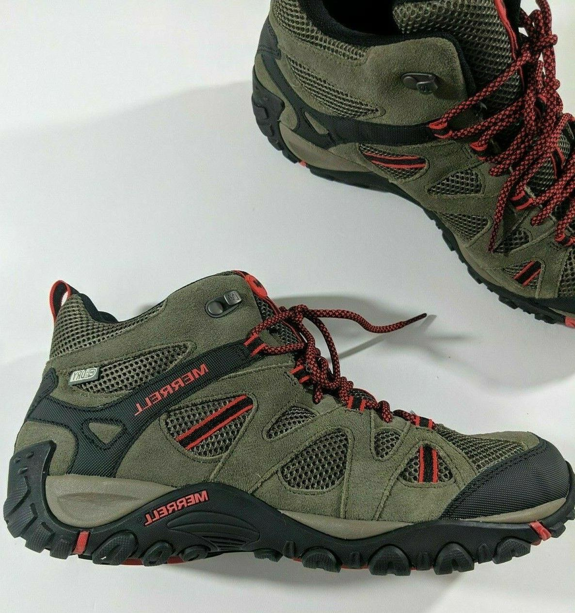 Merrell Hiking Boots Red