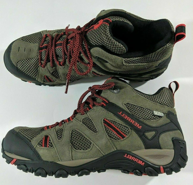 deverta mid waterproof hiking boots boulder firey