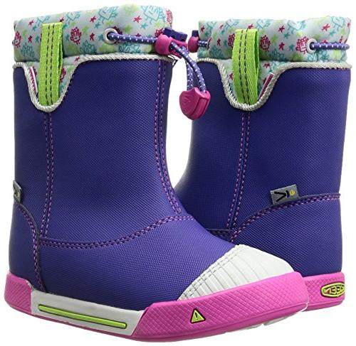 Keen Boot WP-T Hiking, Berry, 8 M US Toddler