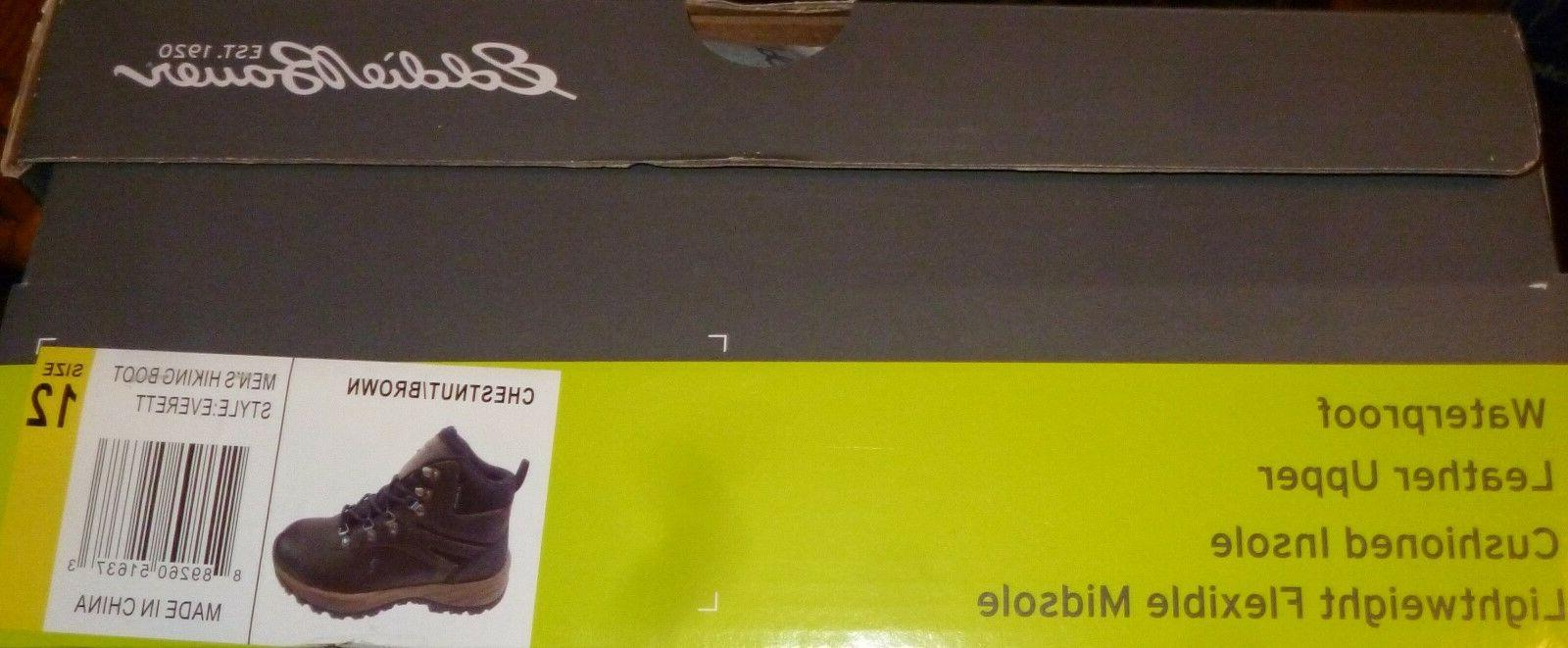 EDDIE BAUER HIKING CUSHIONED INSOLE BROWN IN BOX