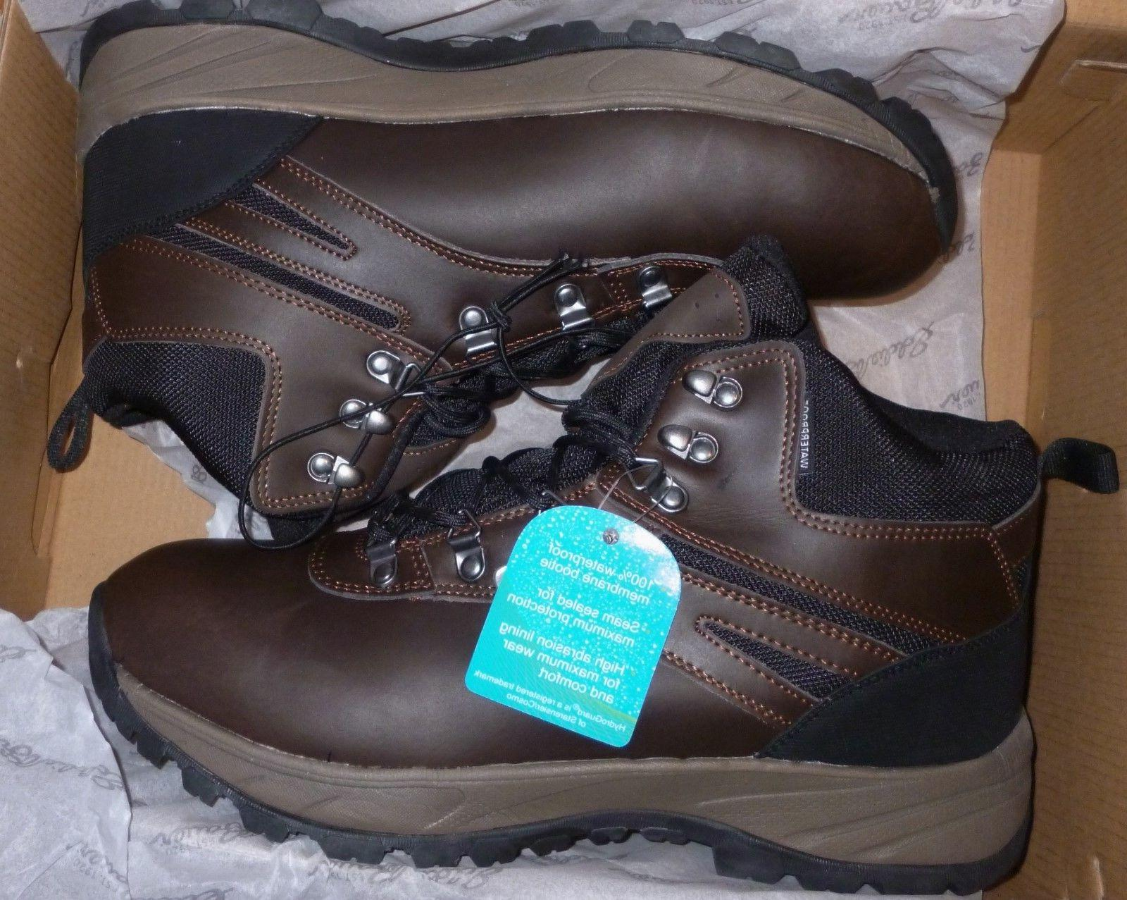 everett men s hiking boots leather cushioned