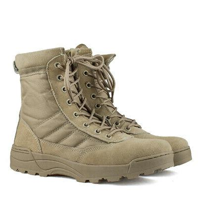 MEN Tactical Boots Hiking-Outdoor US