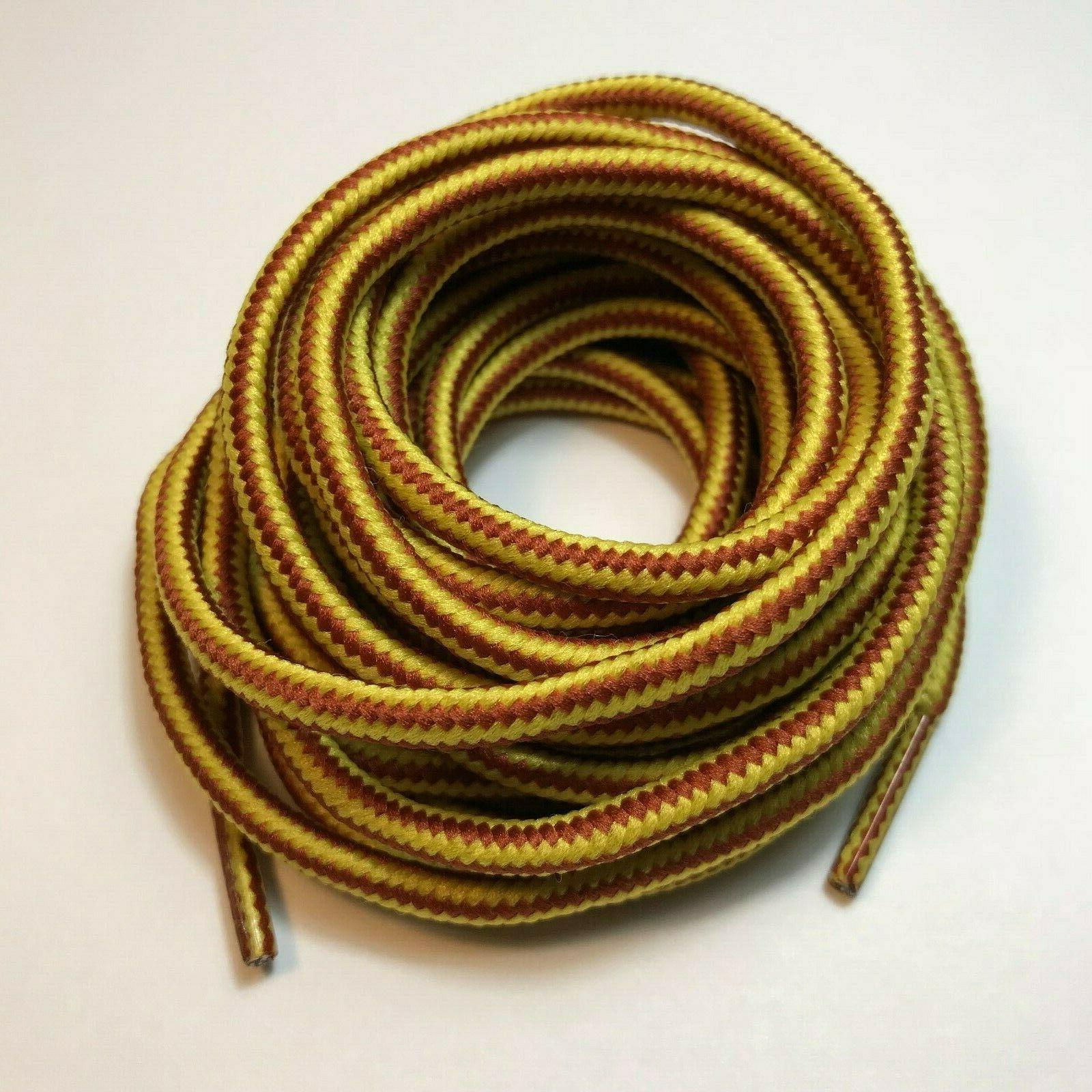 heavy duty round boot shoe laces