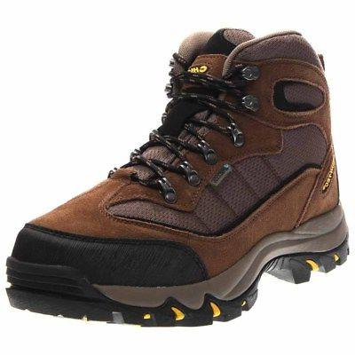 Hi-Tec Skamania Waterproof Hiking Boots - Brown - Mens