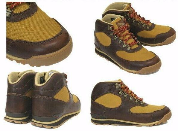 danner Work Hiking Boots Wood Brown Mesh 32230