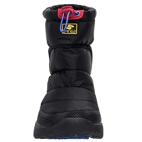 ALEADER Winter Snow Boots Outdoor Warm Ankle Black M