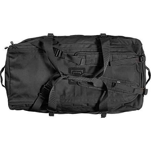 5.11 XRAY Tactical Backpack, Patches, Duffel Bag Pack - Black