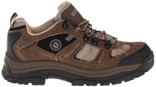 Nevados Women's Low V4161W Hiking Boot,Dark Brown/Black/Taupe,6