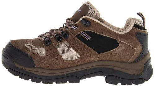 Nevados Women's Waterproof Low V4161W Hiking Boot,Dark Brown/Black/Taupe,6