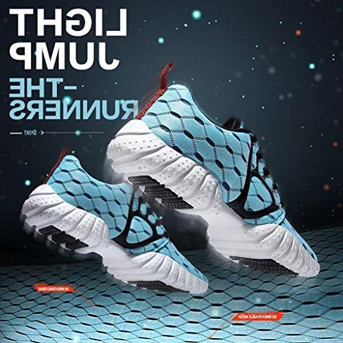 ALEADER Lightweight Sport Running Shoes Blue