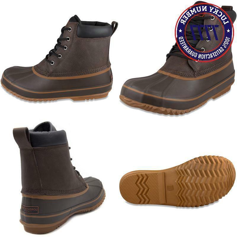 London Fog Mens Waterproof Boot