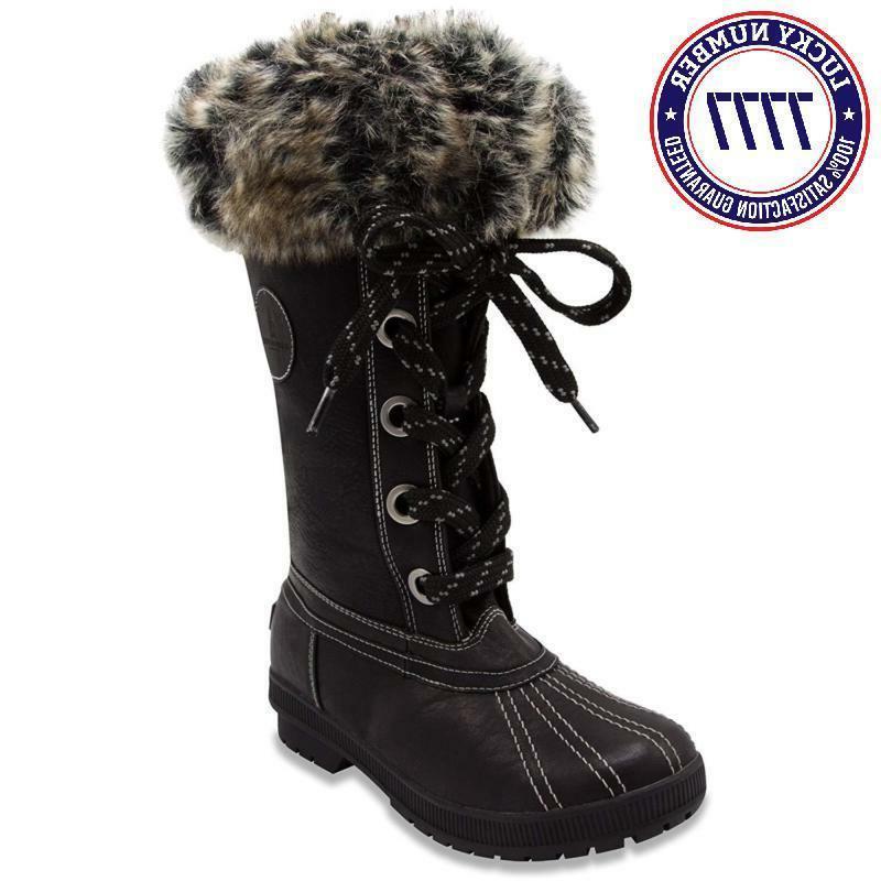 London Fog Cold Waterproof Snow Boot
