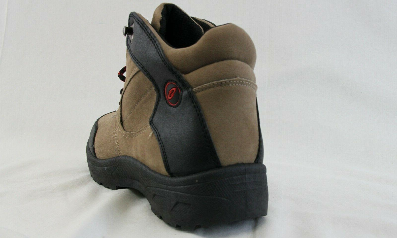 Men Boots Black Walking Working Shoes