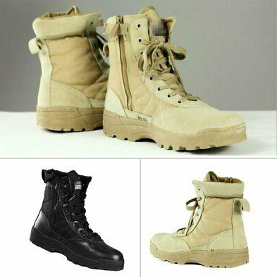 Military Entry Leather Boot Boots Hiking Outdoor